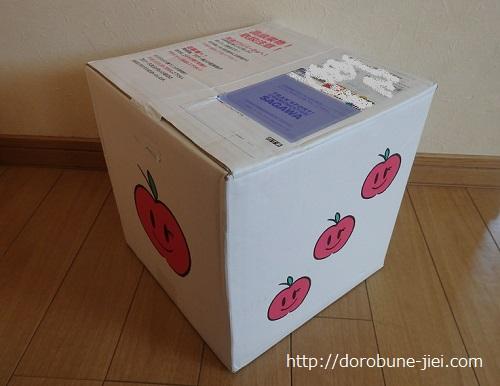 リンゴ箱買い