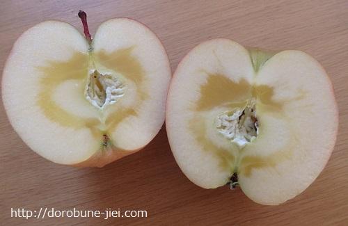 サンふじリンゴ蜜